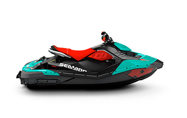 Sea-Doo Spark - Candy Blue & Chilli Pepper